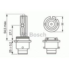 BOSCH D2S 35W P32d-2