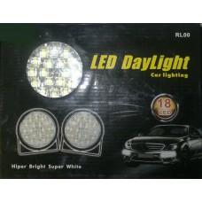 LED žibintas 4W 18LED