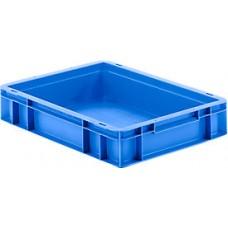 Dėžė EF4080 mėlyna, 400x300x80mm