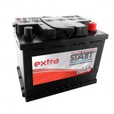 START 55Ah 12V 450A, 242mm x 175mm x 190mm