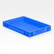 Dėžė EF6070 mėlyna, 600x400x75mm