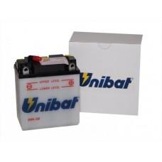Unibat 6N6-3B/SM 6Ah 6V, 99mm x 57mm x 121mm