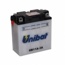 Unibat 6N11A-3A 11Ah 6V, 122mm x 62mm x 132mm
