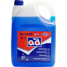ANTIFREEZE AD G11 -35°C BLUE 5L
