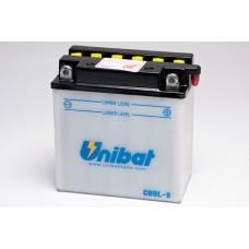 Unibat CB9L-B/SM 12V 9Ah 130A, 135mm x 75mm x 139mm