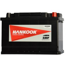 HANKOOK 74Ah 680A 12V MF57412, 277mm x 174mm x 190mm