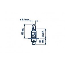 NARVA H1 RPB+ 55W 12V