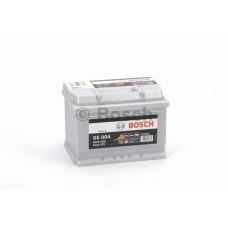 BOSCH 61Ah 12V 600A S5004, 242mm x 175mm x 175mm