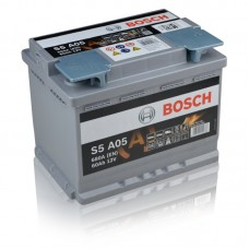 BOSCH 60Ah 12V 680A S5A05, 242mm x 175mm x 190mm