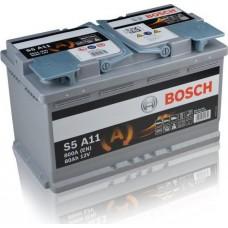 BOSCH 80Ah 12V 800A S5A11, 315mm x 175mm x 190mm