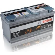 BOSCH 105Ah 12V 950A AGM S5A15, 393mm x 175mm x 190mm