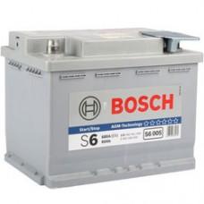 BOSCH 60Ah 12V 680A S6005, 242mm x 175mm x 190mm