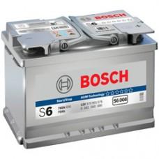 BOSCH 70Ah 12V 760A S6008, 278mm x 175mm x 190mm