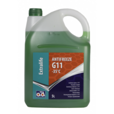 ANTIFREEZE AD G11 -35°C GREEN 5L