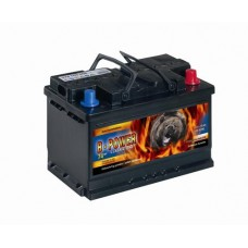 B-POWER 72Ah 640A 12V, 278mm x 175mm x 190mm