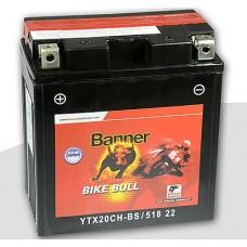 Banner YTX20CH-BS 18Ah Bike Bull AGM 12V 220A, 150mm x 87mm x 161mm