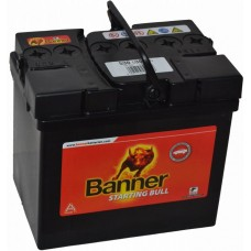Banner 30Ah +- Starting Bull 12V 300A, 187mm x 128mm x 165mm