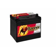 Banner 60Ah Power +- 12V 480A, 233mm x 173mm x 225mm