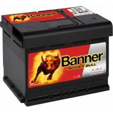 Banner 62Ah Power 12V 540A, 241mm x 175mm x 190mm