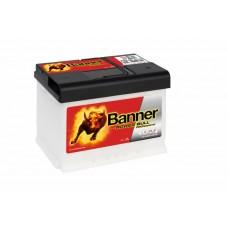 Banner 63Ah Power PRO 12V 600A, 241mm x 175mm x 190mm