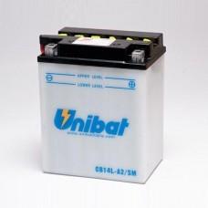 Unibat CB14L-A2/SM 14Ah 190A 12V, 134mm x 89mm x 166mm