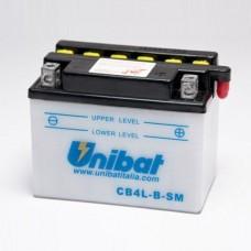 Unibat CB4L-B-SM 4Ah 56A 12V, 120mm x 70mm x 92mm