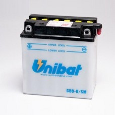 Unibat CB9-B/SM 9Ah 12V, 130A 135mm x 75mm x 139mm