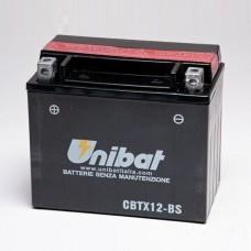 Unibat CBTX12-BS 10Ah 180A 12V, 150mm x 87mm x 130mm