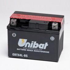 Unibat CBTX4L-BS 3Ah 50A 12V, 114mm x 71mm x 86mm
