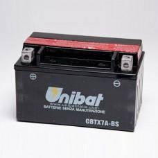 Unibat CBTX7A-BS 6Ah 90A 12V, 150mm x 87mm x 94mm