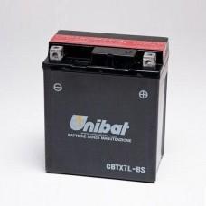 Unibat CBTX7L-BS 6Ah 85A 12V, 114mm x 71mm x 131mm
