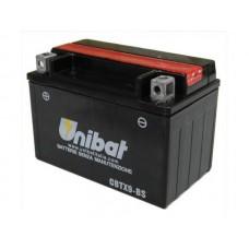 Unibat CBTX9-BS 8Ah 120A 12V, 150mm x 87mm x 105mm
