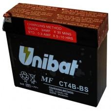 Unibat CT4B-BS 2Ah 40A 12V, 113mm x 38mm x 86mm