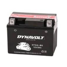 DYNAVOLT DB DTX4L-BS 12V 3Ah, 114mm x 71mm x 86mm