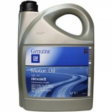 GM GM DEXOS2, SAE 5W-30, 5L