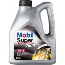 MOBIL SUPER 2000, SAE 10W-40, 4L