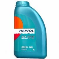 REPSOL ELITE 50501 TDI, SAE 5W-40, 1L