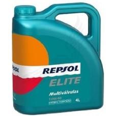 REPSOL ELITE MULTIVALVULAS, SAE 10W-40, 4L