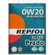 REPSOL ELITE PRADO, SAE 0W-20, 4L
