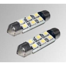 LED 6 SMD T11x36