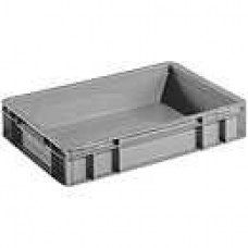 Dėžė EF4070 pilka, 400x300x75mm