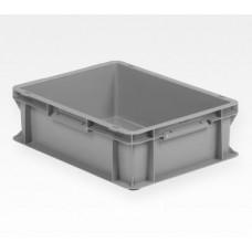 Dėžė EF4120 pilka, 400x300x120mm