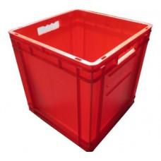 Dėžė EF4440 raudona, 400x400x420mm