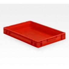 Dėžė EF6070 raudona, 600x400x75mm