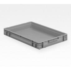 Dėžė EF6070 pilka, 600x400x75mm