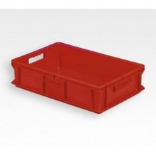 Dėžė EF6140 raudona, 600x400x140mm