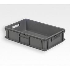 Dėžė EF6140 pilka, 600x400x140mm