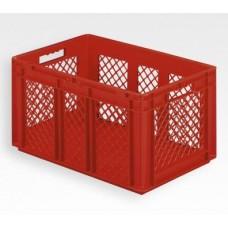 Dėžė EF6321 raudona, 600x400x320mm