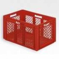 Dėžė EF6323 raudona, 600x400x320mm