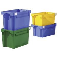 Dėžė EFB642 geltona, 600x400x200mm